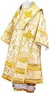 Bishop vestments - metallic brocade BG3 (white-gold)
