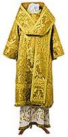 Bishop vestments - metallic brocade BG4 (yellow-claret-gold)
