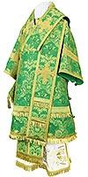 Bishop vestments - metallic brocade BG4 (green-gold)