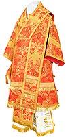 Bishop vestments - metallic brocade BG4 (red-gold)