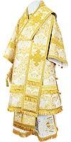 Bishop vestments - metallic brocade BG4 (white-gold)