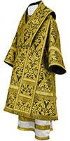 Bishop vestments - metallic brocade BG5 (black-gold)