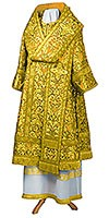 Bishop vestments - metallic brocade BG5 (yellow-gold)