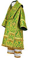 Bishop vestments - metallic brocade BG5 (green-gold)