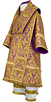 Bishop vestments - metallic brocade BG5 (violet-gold)