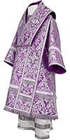 Bishop vestments - metallic brocade BG5 (violet-silver)