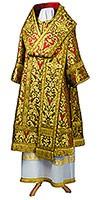 Bishop vestments - metallic brocade BG6 (red-gold)
