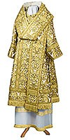 Bishop vestments - metallic brocade BG5 (white-gold)