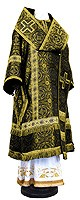 Bishop vestments - rayon brocade S3 (black-gold)