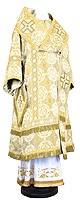 Bishop vestments - rayon brocade S3 (white-gold)