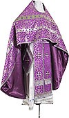 Russian Priest vestments - metallic brocade BG1 (violet-silver)