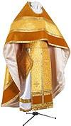 Russian Priest vestments - metallic brocade BG2 (yellow-gold)
