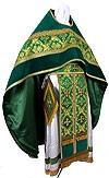 Russian Priest vestments - metallic brocade BG2 (green-gold)