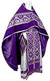 Russian Priest vestments - metallic brocade BG2 (violet-silver)