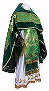 Russian Priest vestments - metallic brocade BG3 (green-gold)