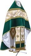 Russian Priest vestments - metallic brocade BG3 (white-gold)