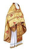 Russian Priest vestments - metallic brocade BG4 (yellow-gold)