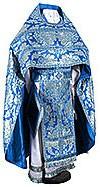 Russian Priest vestments - metallic brocade BG5 (blue-silver)