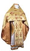 Russian Priest vestments - metallic brocade BG5 (yellow-claret-gold)