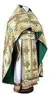 Russian Priest vestments - metallic brocade BG5 (white-gold)
