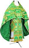Russian Priest vestments - metallic brocade BG6 (green-gold)