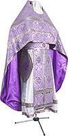 Russian Priest vestments - rayon brocade S3 (violet-silver)