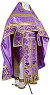 Embroidered Russian Priest vestments - Eden Birds (violet-gold)