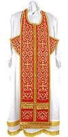 Embroidered Epitrakhilion set - Wattled (red-gold)