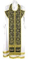 Embroidered Epitrakhilion set - Iris (black-gold)