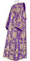 Deacon vestments - metallic brocade B (violet-gold)