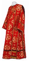 Deacon vestments - metallic brocade B (red-gold)
