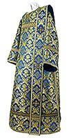 Deacon vestments - metallic brocade BG1 (blue-gold)