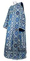 Deacon vestments - metallic brocade BG1 (blue-silver)