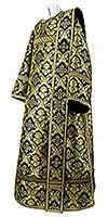 Deacon vestments - metallic brocade BG1 (black-gold)