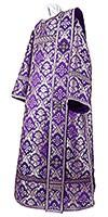 Deacon vestments - metallic brocade BG1 (violet-silver)