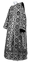 Deacon vestments - metallic brocade BG1 (black-silver)