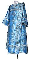 Deacon vestments - metallic brocade BG2 (blue-silver)