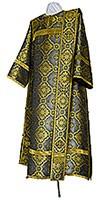 Deacon vestments - metallic brocade BG2 (black-gold)