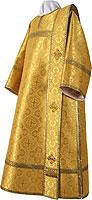 Deacon vestments - metallic brocade BG2 (yellow-gold)