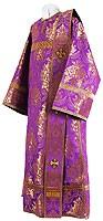 Deacon vestments - metallic brocade BG2 (violet-gold)