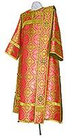 Deacon vestments - metallic brocade BG2 (red-gold)