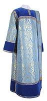 Deacon vestments - metallic brocade BG3 (blue-gold)