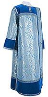 Deacon vestments - metallic brocade BG3 (blue-silver)