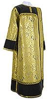 Deacon vestments - metallic brocade BG3 (black-gold)