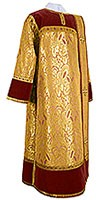 Deacon vestments - metallic brocade BG3 (yellow-gold)