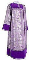 Deacon vestments - metallic brocade BG3 (violet-silver)