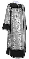Deacon vestments - metallic brocade BG3 (black-silver)