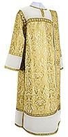 Deacon vestments - metallic brocade BG3 (white-gold)