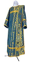 Deacon vestments - metallic brocade BG6 (blue-gold)