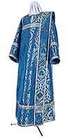 Deacon vestments - metallic brocade BG5 (blue-silver)